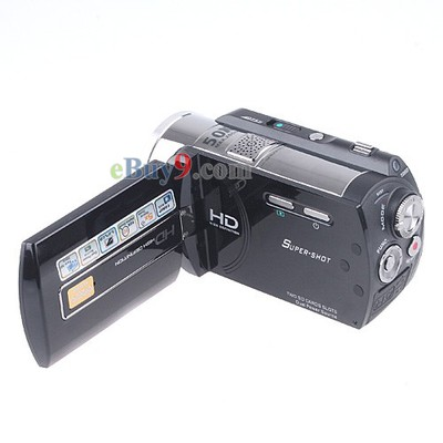 3.0 inch Full HD 16MP 720P Digital Video Camcorder Camera DV 5 x Optical Zoom-As picture