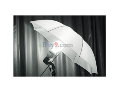 Photography Studio 83cm/33&quot; Photo Lighting Reflector Umbrella (White)-White