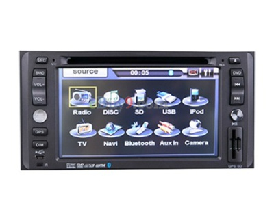 "6.2"" Car DVD Player For Toyota 2006-2007 with GPS IPOD ISDB-T Bluetooth RDS AVIN EMS Shipping-As picture"