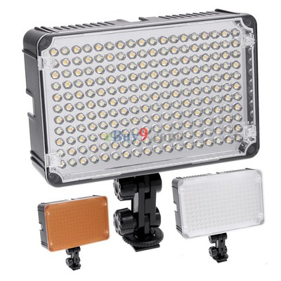 Aputure Amaran AL-198C Camera Camcorder LED Video Light Lamp for Canon Nikon-As picture