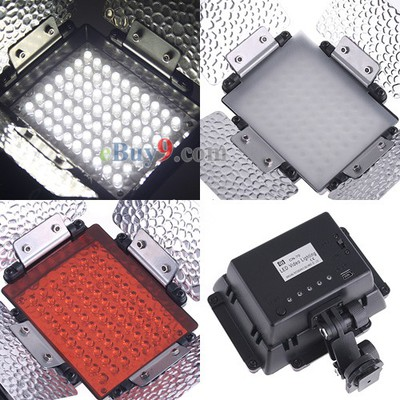 CN-70 LED Camera Video Camcorder DV Lamp Light Diffusers-As picture