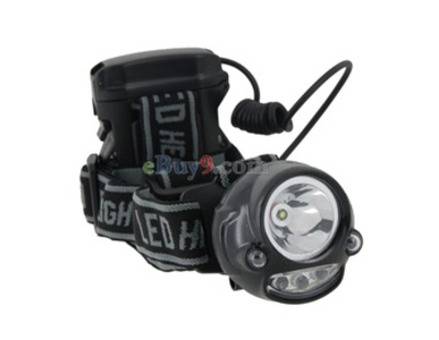 Genuine MAGICSHINE MJ-CT806 220 Lumen Waterproof LED Head Light (Black)-As picture