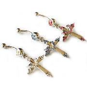 /hot-3-color-cross-rhinestones-crystal-curved-belly-button-navel-ring-nail-p-37008.html