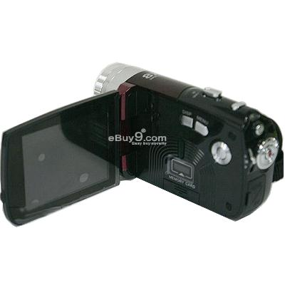 16.0MP DV 8X 720HD VEDIO Camcorder CAMERA HD-C5 sm1cw-Black