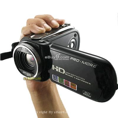 Brand new 12.0 MP Digital Video Camera Camcorder HD DV smD3w-Black
