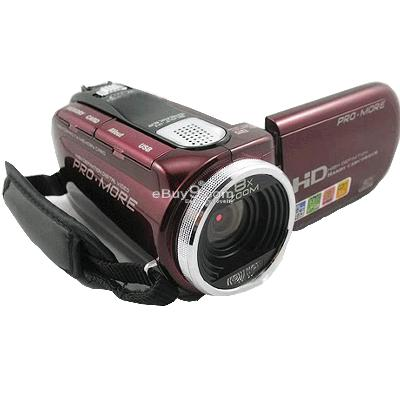 Brand new 12.0 MP Digital Video Camera Camcorder HD DV smDVw-Red