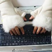 /rabbit-fur-hand-wrist-fingerless-gloves-black-sts3w-p-2710.html