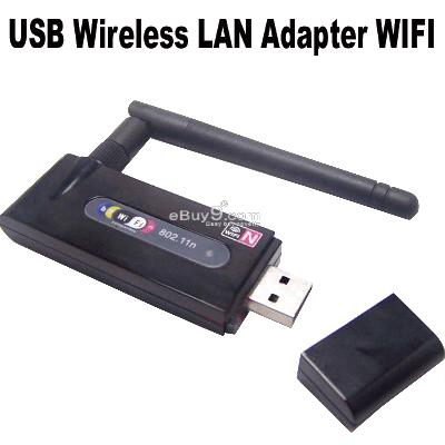 WIFI USB 2.0 Wireless LAN Network Adapter 150M Wkkw-Black