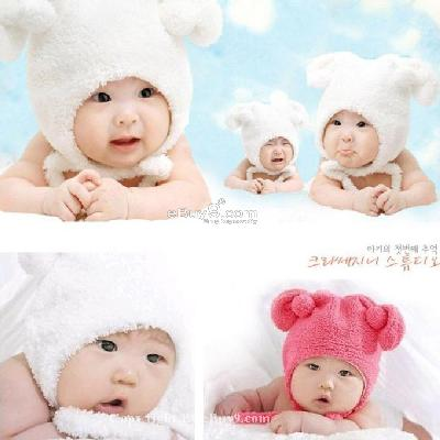 Baby Lamb Pictures on Toddler Baby Child Lamb Hippie Hat Earflap Winter Fleece Hat Ygg1w Hot