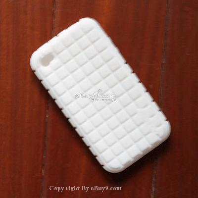 Trendy Protective Case Cover for iPhone 3G 3GS yjge6-White
