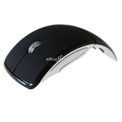 NEW Notebook USB Wireless Optical Mouse 10M 2.4G For PC Laptop ZDSB3w-Black